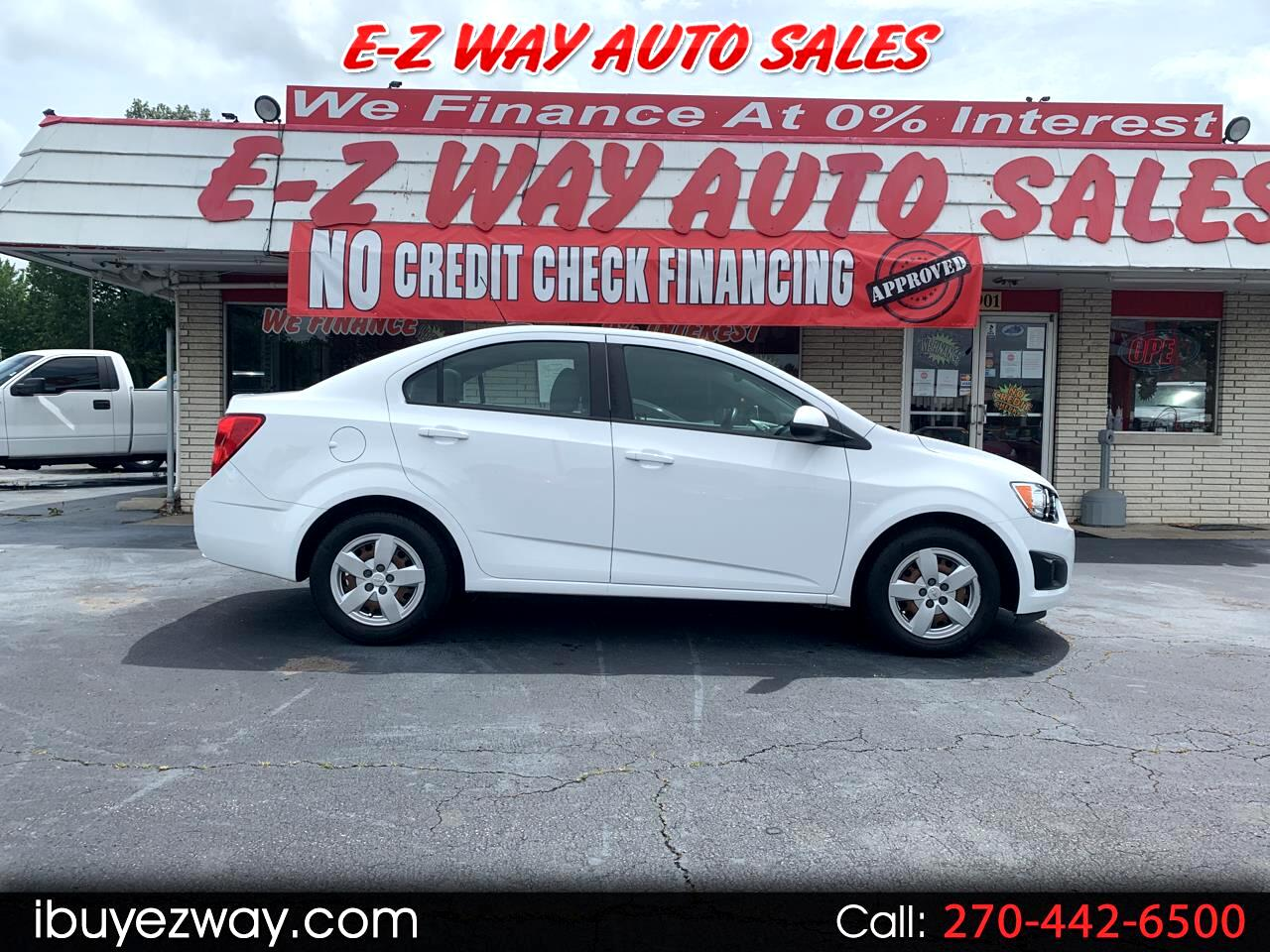 Chevrolet Sonic 4dr Sdn Auto LS 2015