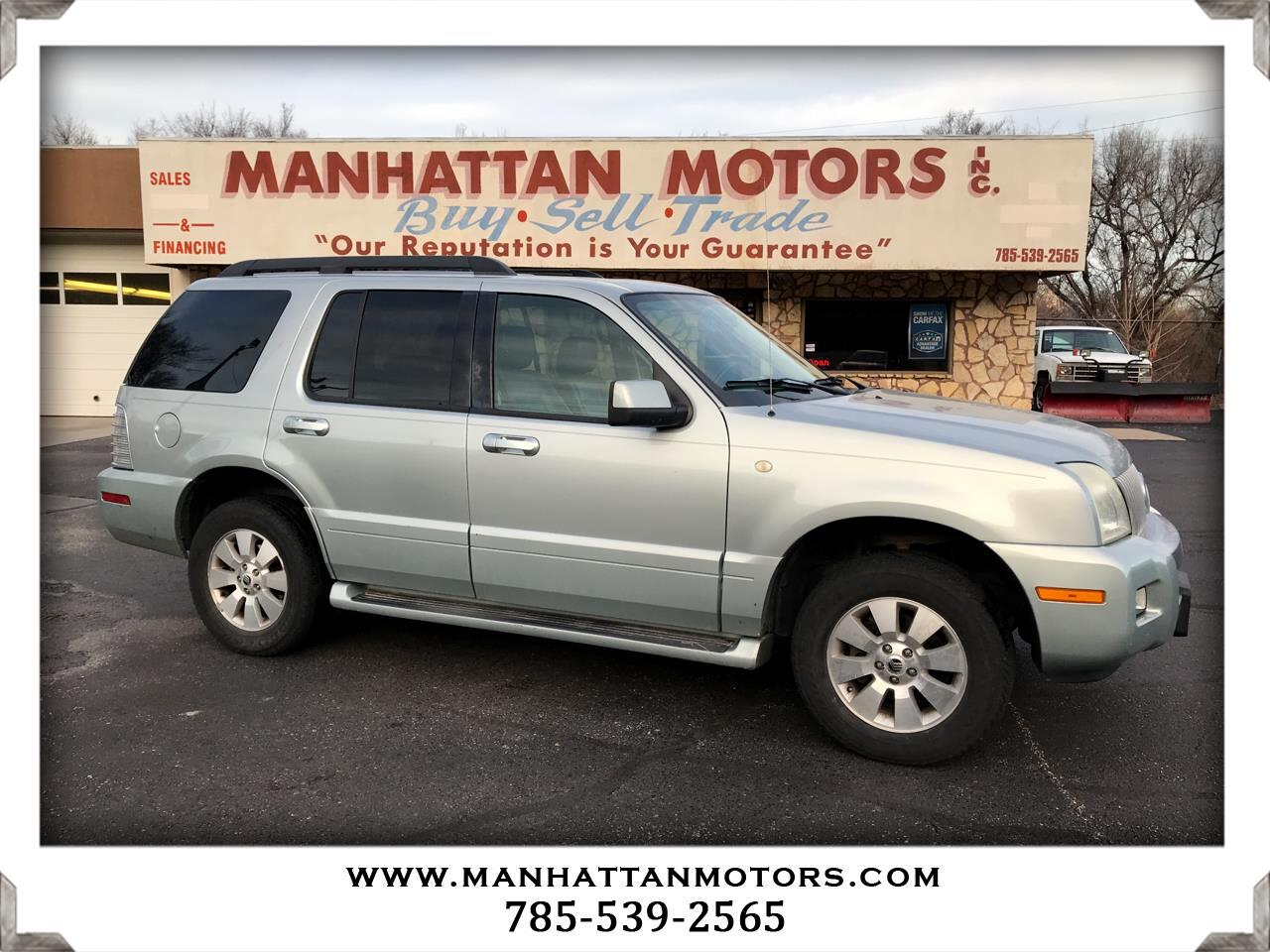2006 Mercury Mountaineer 4dr Luxury AWD