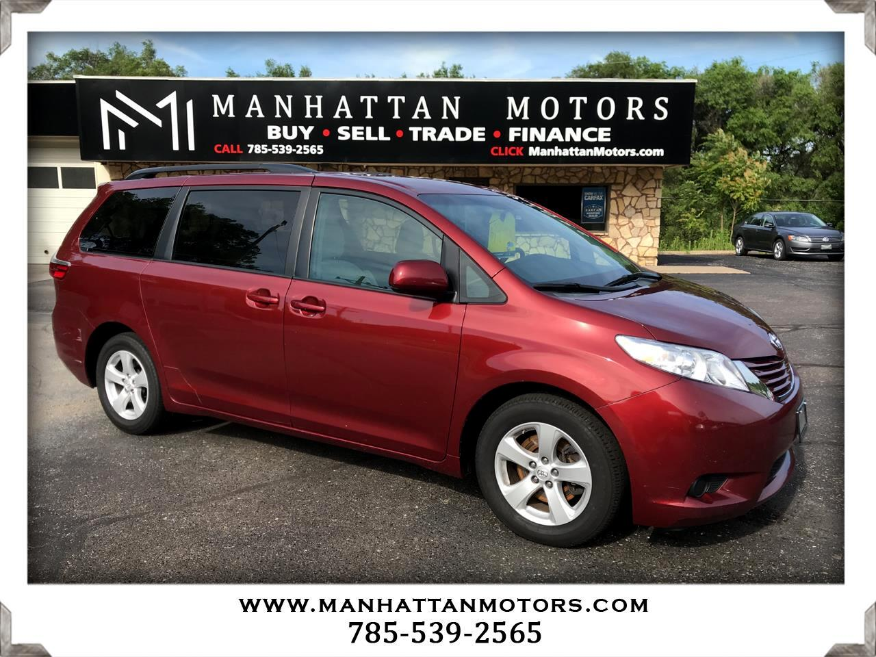 2016 Toyota Sienna 5dr 8-Pass Van V6 LE FWD (Natl)
