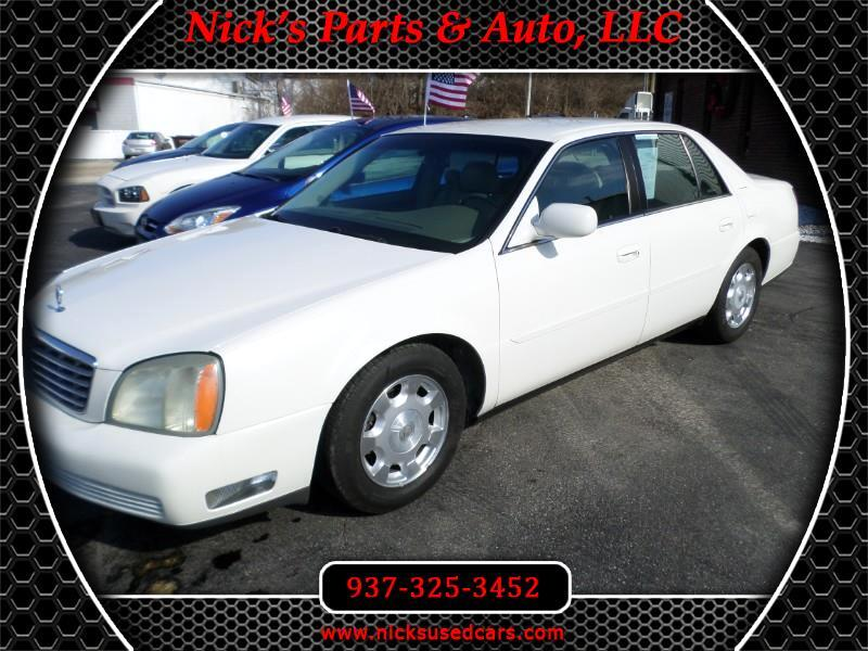 2003 Cadillac DeVille 4dr Sdn