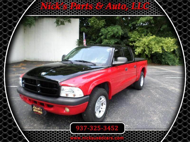 "2002 Dodge Dakota Quad Cab 131"" WB Sport"