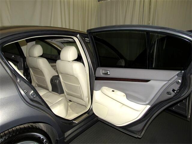 Infiniti G Sedan  2012