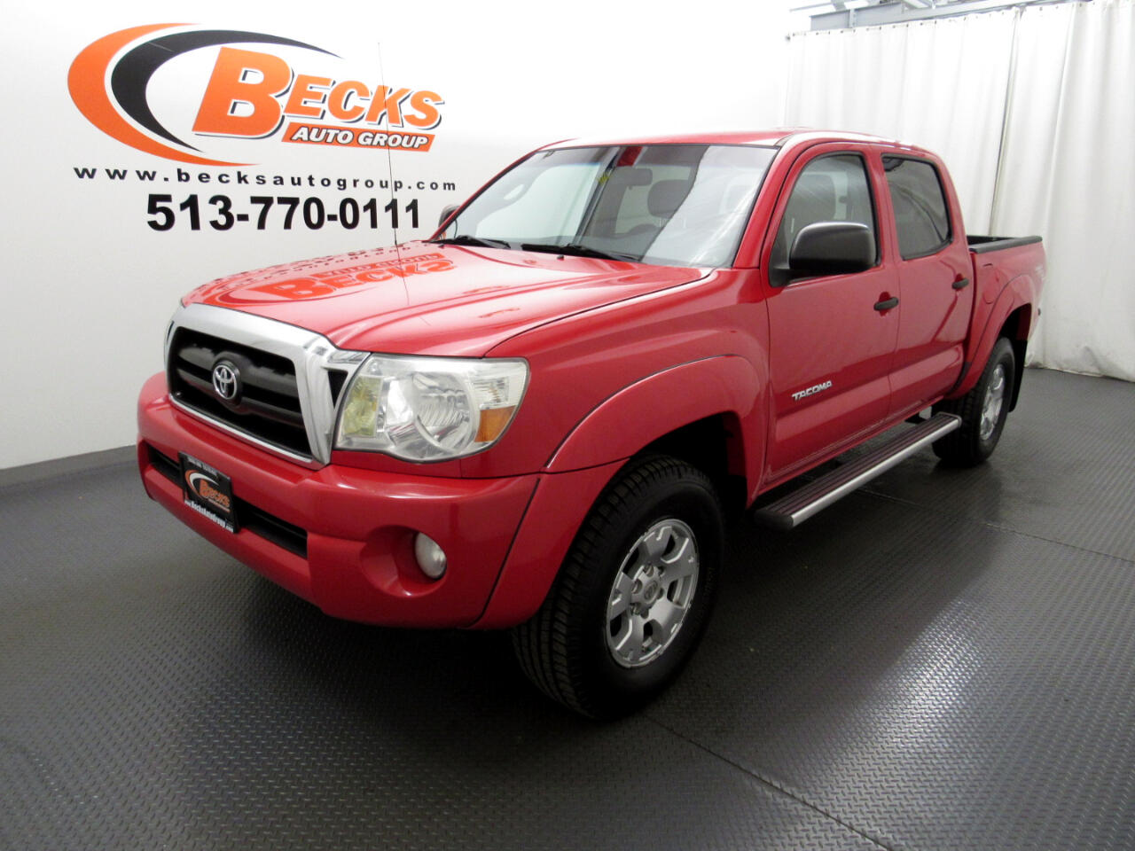 2007 Toyota Tacoma 4WD Double Cab V6 AT (Natl)