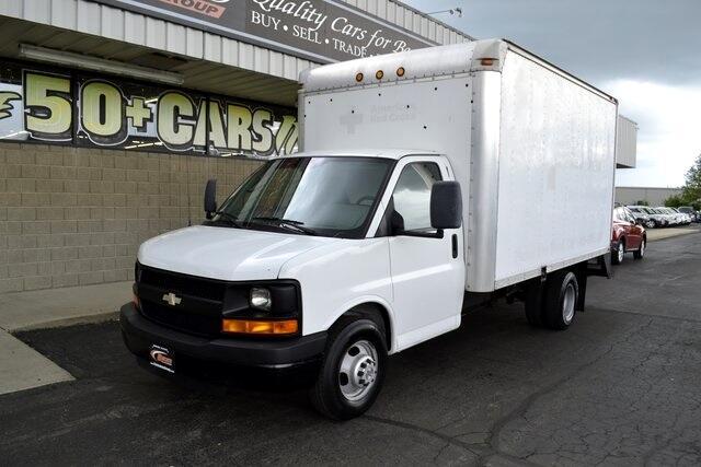 2009 Chevrolet Express Commercial Cutaway Work Van