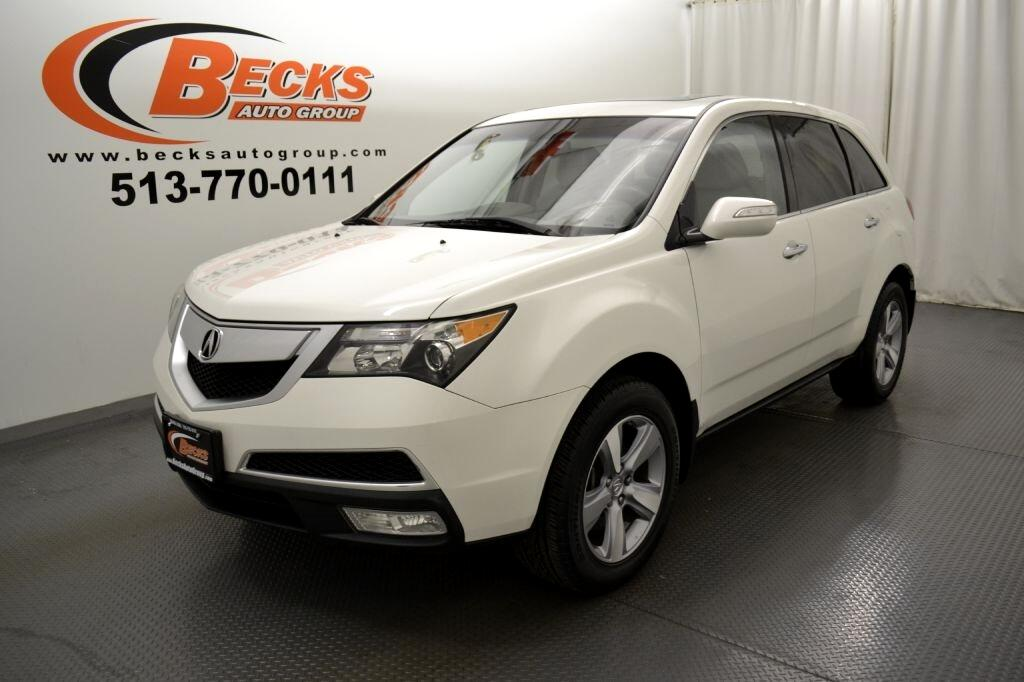 Used 2011 Acura MDX Technology for Sale in Mason OH 45040 Becks Auto