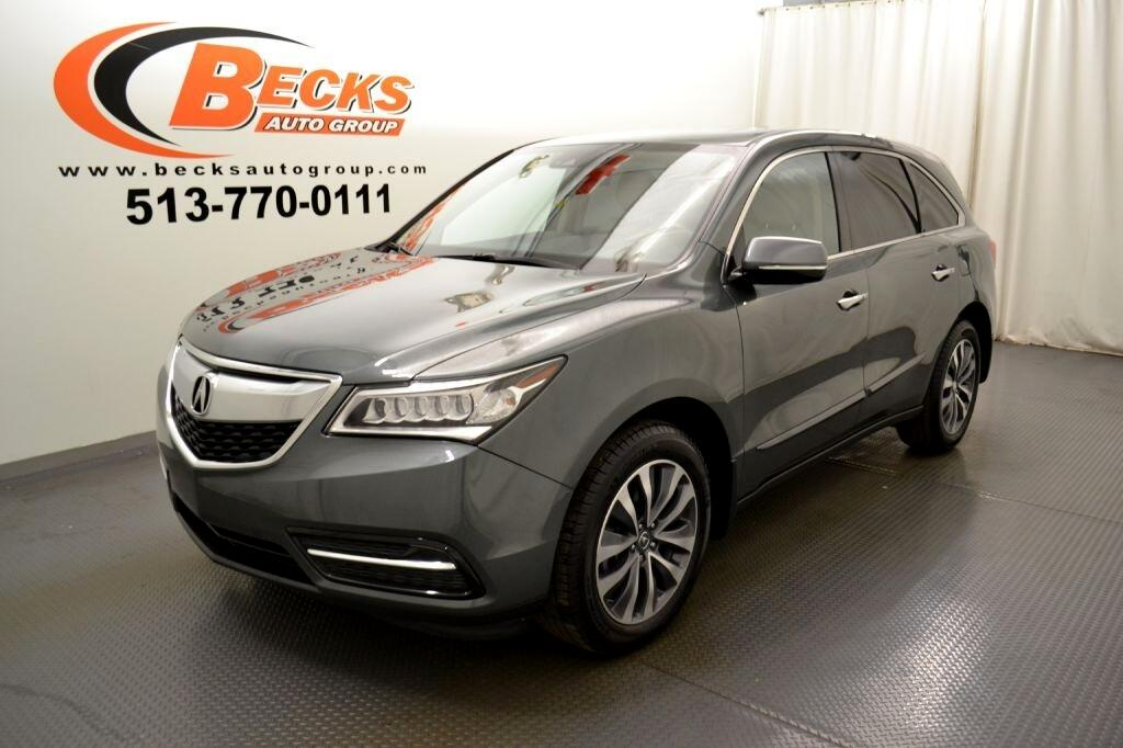 Used 2016 Acura MDX 3 5L for Sale in Mason OH 45040 Becks Auto Group