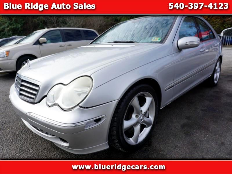 Used 2005 Mercedes Benz C Class For Sale In Roanoke Va 24012 Blue