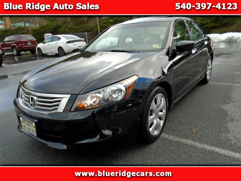 2008 Honda Accord EX-L V-6 Sedan AT with Navigation