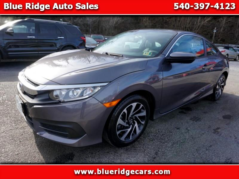 2016 Honda Civic LX Coupe CVT
