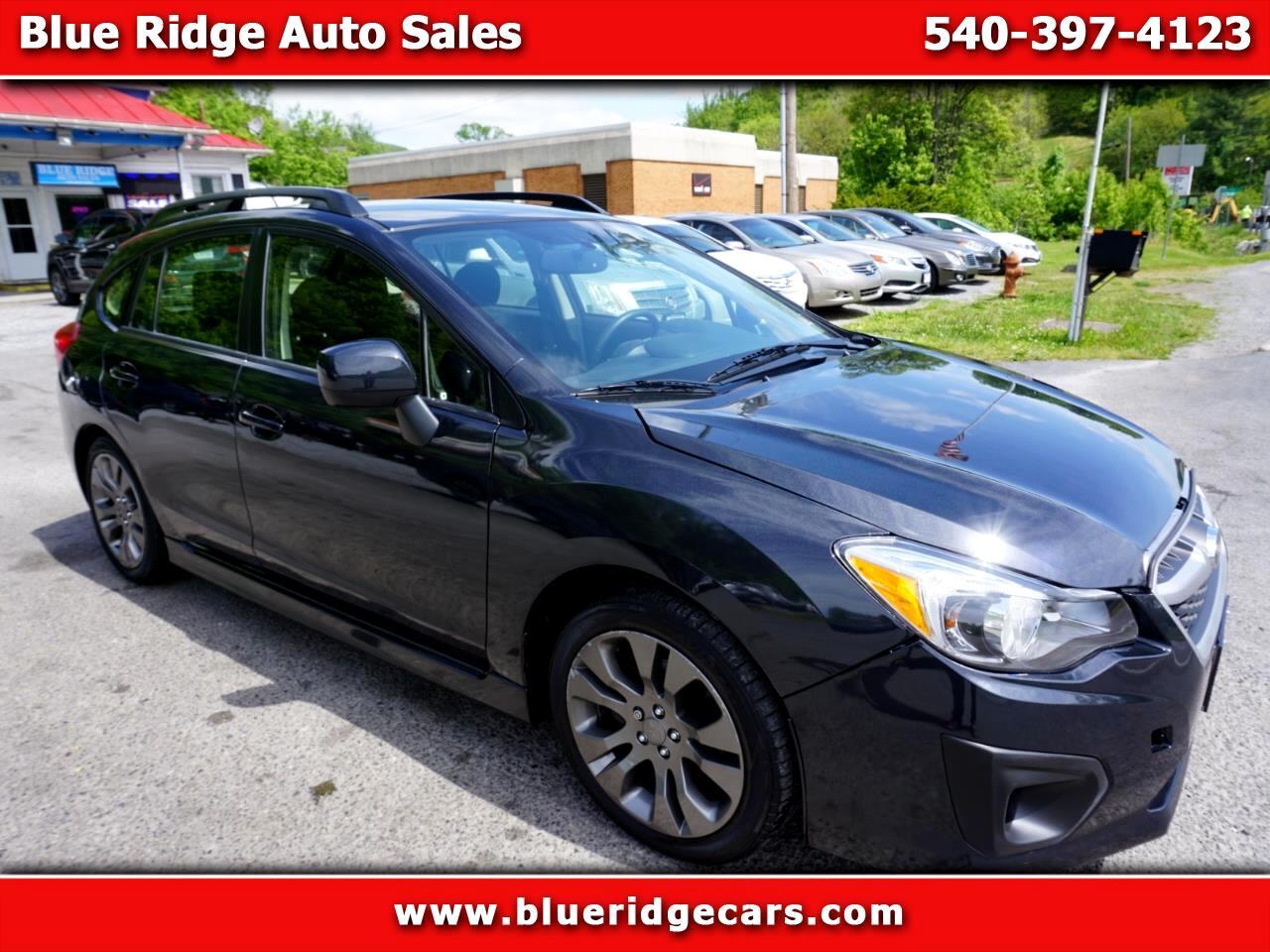 Subaru Impreza 2.0i Sport Premium 2014