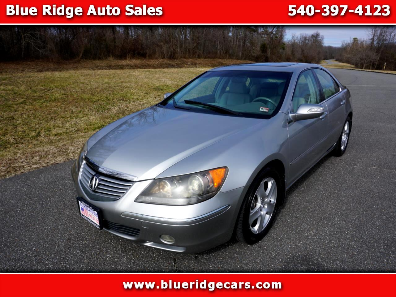 Acura RL Technology Package 2008