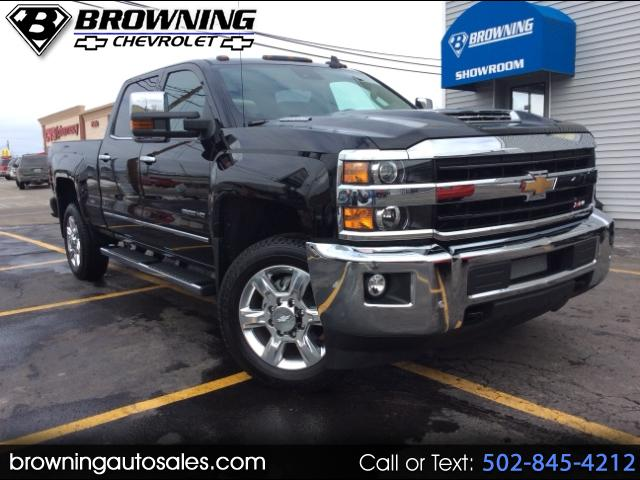 2018 Chevrolet Silverado 2500HD LTZ Crew Cab Long Box 4WD