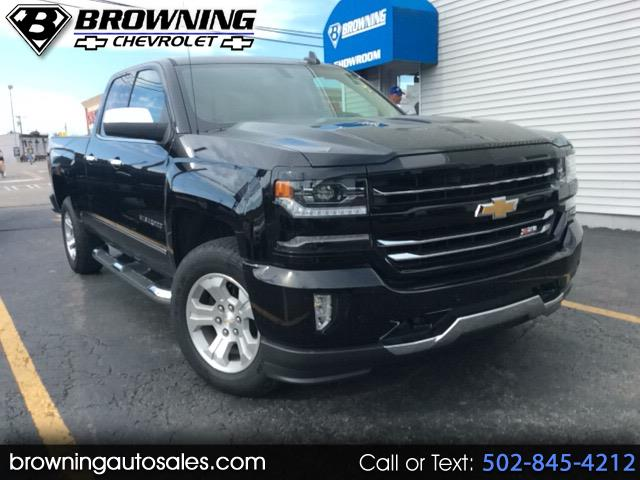 2018 Chevrolet Silverado 1500 LTZ Double Cab Short Box 4WD