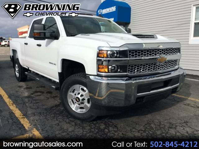 2019 Chevrolet Silverado 2500HD Work Truck Crew Cab Long Box 4WD