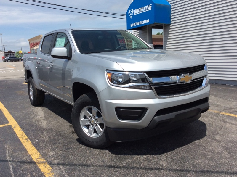 2019 Chevrolet Colorado Work Truck Crew Cab 4WD Short Box
