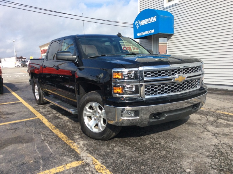 Chevrolet Silverado 1500 LT Crew Cab Long Box 4WD 2015