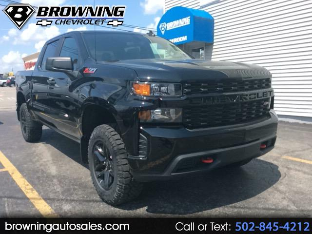 2019 Chevrolet Silverado 1500 Custom Trail Boss Crew Cab Long Box 4WD