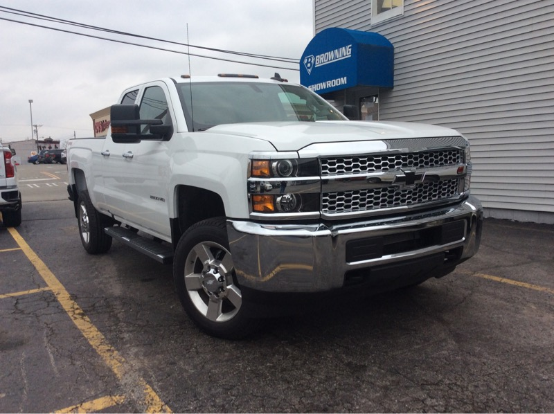 Chevrolet Silverado 2500HD Work Truck Double Cab 4WD 2019