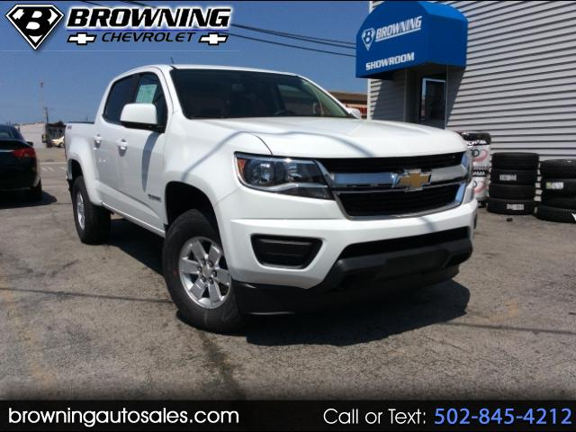 2018 Chevrolet Colorado Work Truck Crew Cab 4WD Long Box