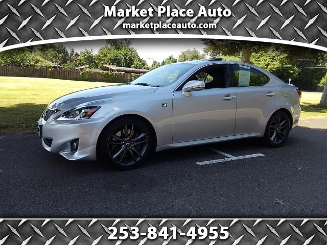 2012 Lexus IS IS 350 F-Sport