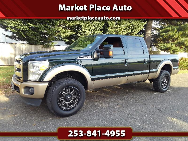 2012 Ford F-350 SD King Ranch Crew-Cab 4WD 6.7L Powerstroke Diesel