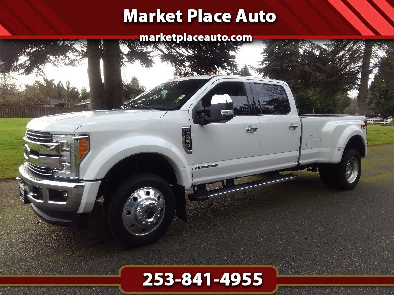 2017 Ford F-450 SD Lariat Crew-Cab DRW 4WD 6.7L Powerstroke Diesel
