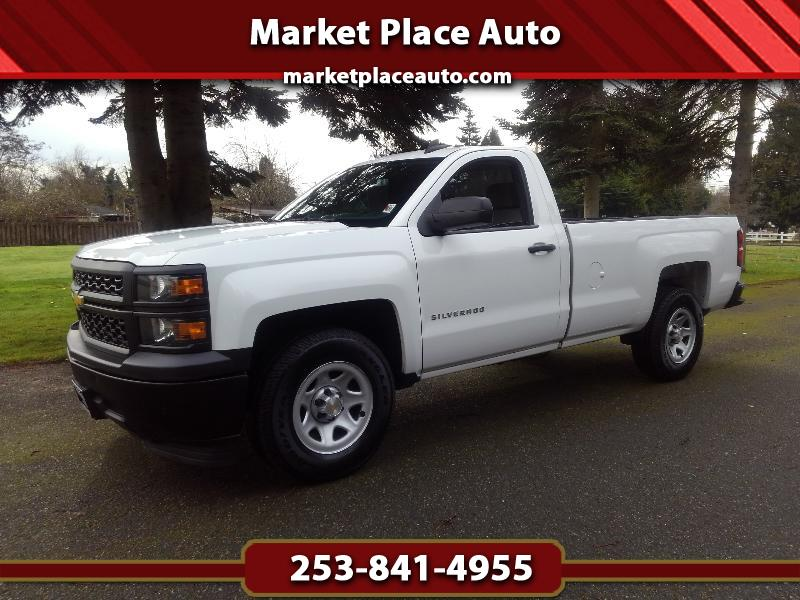 2015 Chevrolet Silverado 1500 W/T Long-Bed