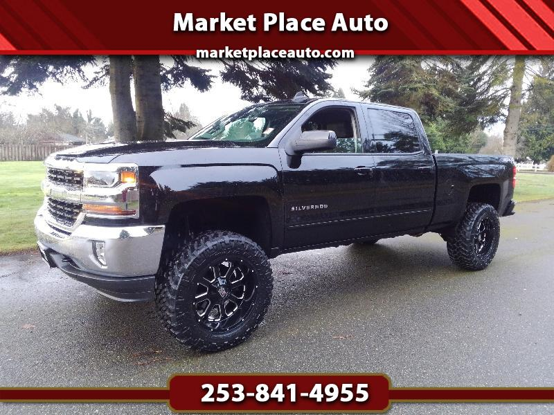 2016 Chevrolet Silverado 1500 LT Crew Cab Long Box 4WD