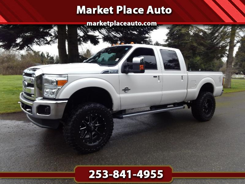 2013 Ford F-350 SD Lariat Crew-Cab 4WD 6.7L Powerstroke Diesel