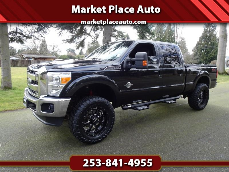 2012 Ford F-350 SD Lariat Crew-Cab 4WD 6.7L Powerstroke Diesel