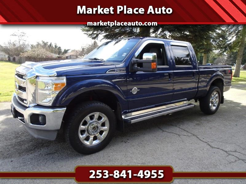 2011 Ford F-350 SD Lariat FX-4 Crew-Cab 4WD 6.7L Powerstroke Diesel