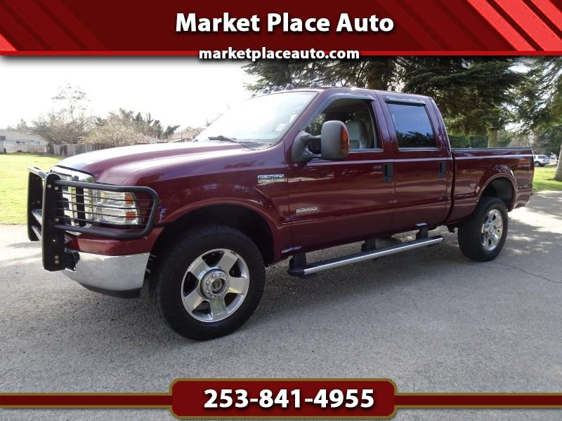 2006 Ford F-350 SD Lariat Crew-Cab 4WD Powerstroke Diesel