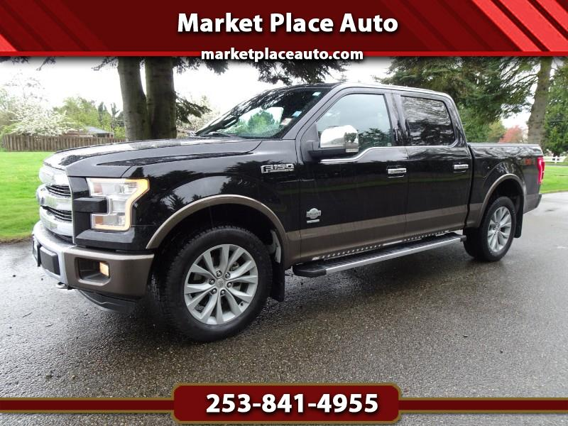 2016 Ford F-150 King-Ranch SuperCrew 4WD