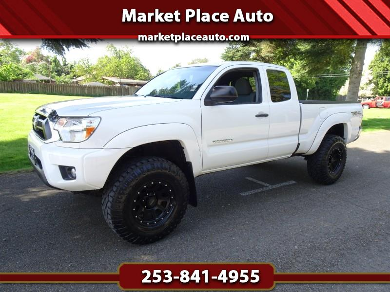 2012 Toyota Tacoma TRD Offroad Access Cab 4WD