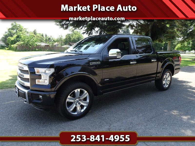 2016 Ford F-150 Platinum SuperCrew 4WD