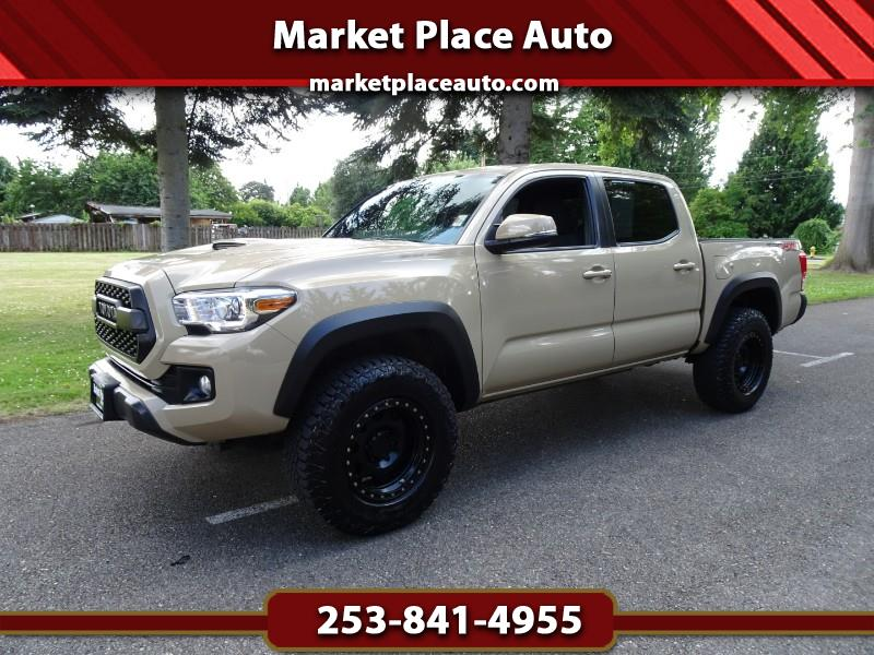 2017 Toyota Tacoma TRD Offroad Double Cab 4WD