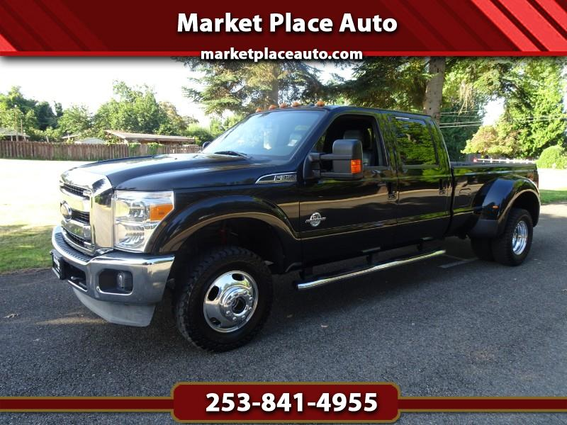 2013 Ford F-350 SD Lariat Crew-Cab DRW 4WD 6.7L Powerstroke Diesel