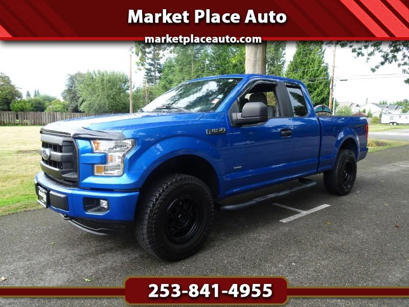 2015 Ford F-150 XL Sport SuperCab 4WD