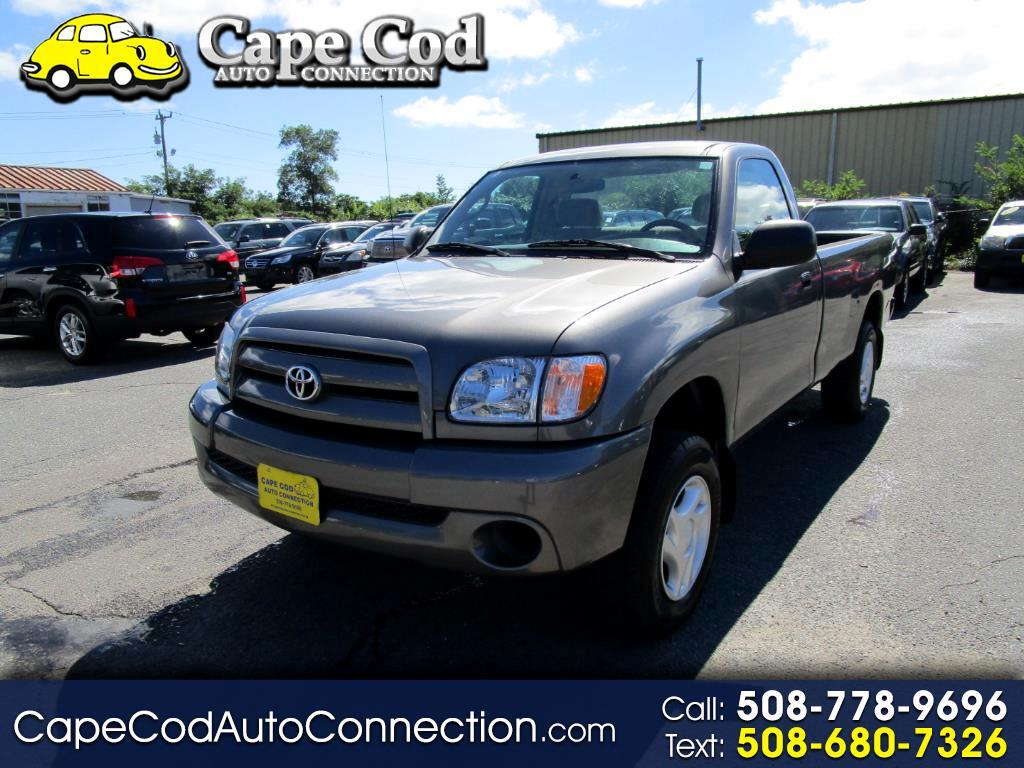 2004 Toyota Tundra RegCab V6 Manual (Natl)