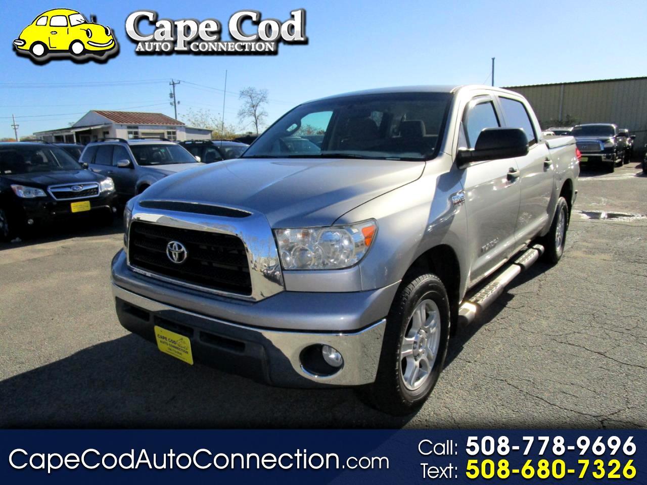 """2008 Toyota Tundra 4WD CrewMax 145.7"""" 5.7L SR5 (Natl)"""