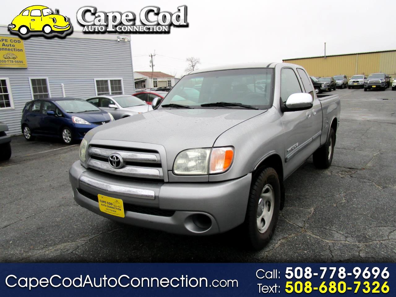 2003 Toyota Tundra AccessCab V6 Auto SR5 (Natl)