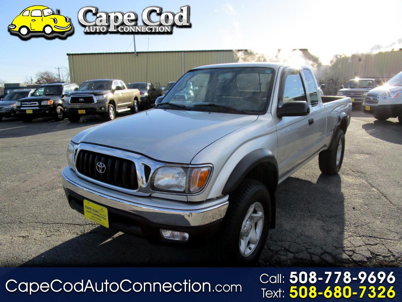 2002 Toyota Tacoma XtraCab V6 Auto 4WD (Natl)