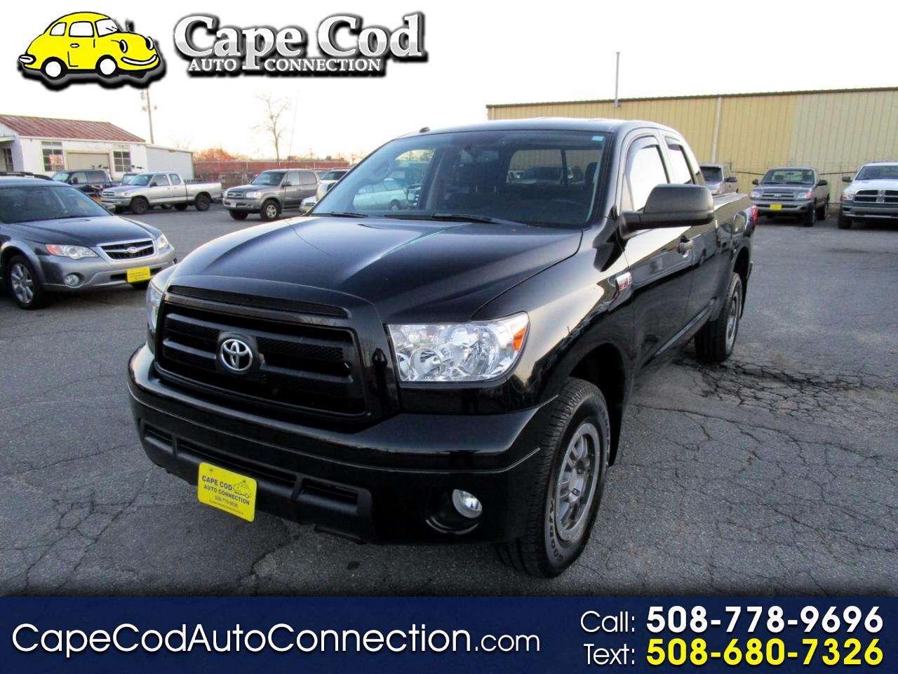 2012 Toyota Tundra 4WD Truck Double Cab 5.7L V8 6-Spd AT SR5 (Natl)