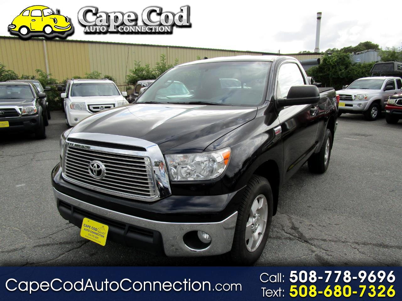 2010 Toyota Tundra 4WD Truck Reg 5.7L V8 6-Spd AT (Natl)