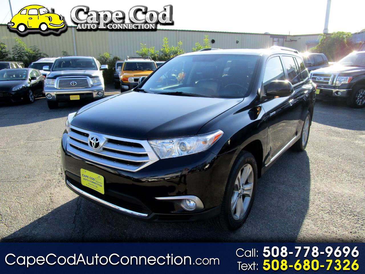 Toyota Highlander 4WD 4dr V6  Limited (Natl) 2013