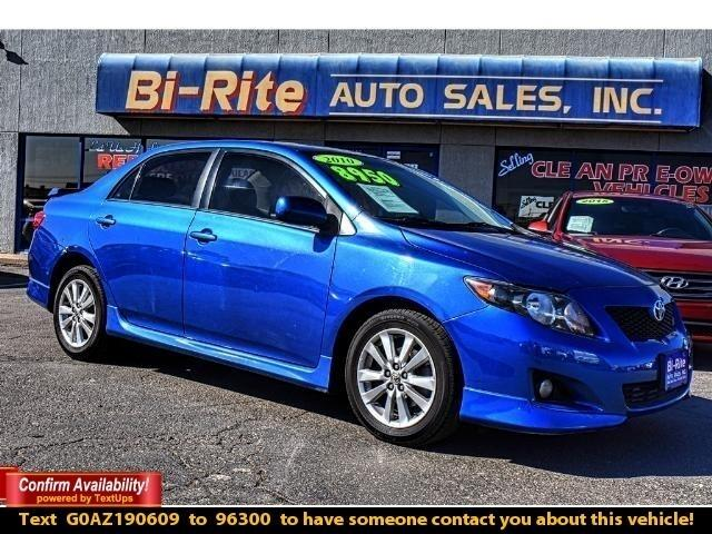 2010 Toyota Corolla COROLLA S SPORTS PACKAGE GREAT PRICE