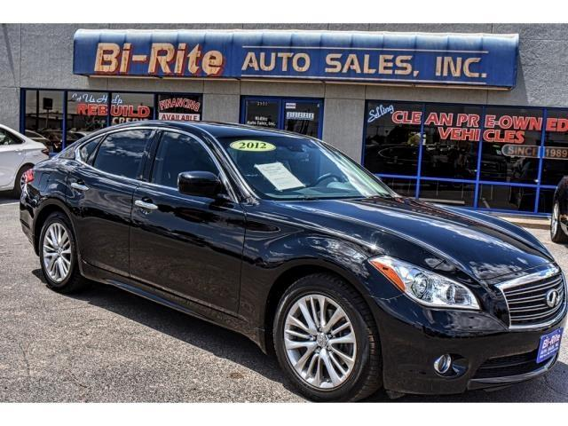 2012 Infiniti M M 37 LUXURY SEDAN BLACK AND LOADED WITH OPTIONS