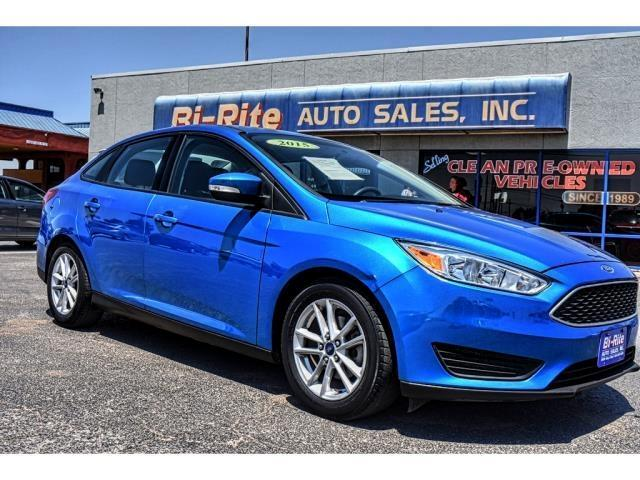 2015 Ford Focus GREAT ECONOMY CLEAN CAR FAX  AUTO GREAT GRAD GIFT