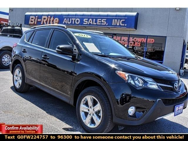 2015 Toyota RAV4 XLE NAVIGATION CLEAN CARFAX ONE OWNER GREAT MPG