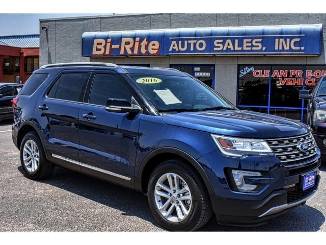 2016 Ford Explorer THIRD ROW LOW MILES XLT PACKAGE